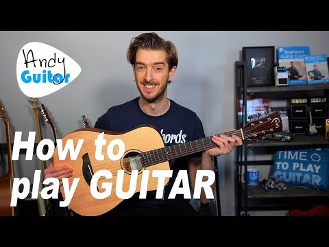 How to Play Acoustic Guitar for Total Beginners - Where to Start?