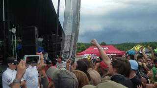 Anti-Flag - Die For Your Government - live - Warped Tour - Charlotte, NC - 7-6-17