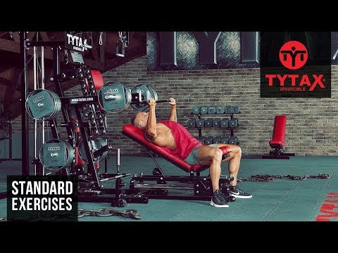 Lever Incline Bench Press | TYTAX® M2