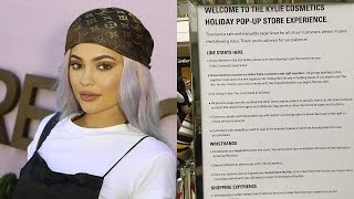 <b>Kylie Jenner</b>s CRAZY STRICT Rules For Her Pop Up Shop