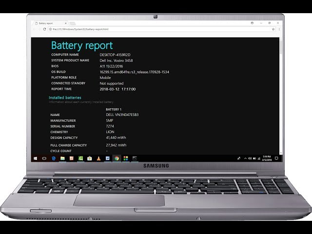 How To Check Battery Life On Lenovo Laptop