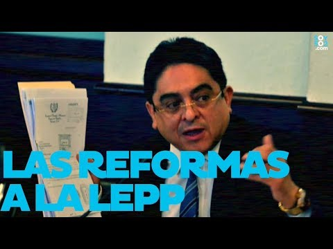 Jordan Rodas habla sobre la reforma a la LEPP