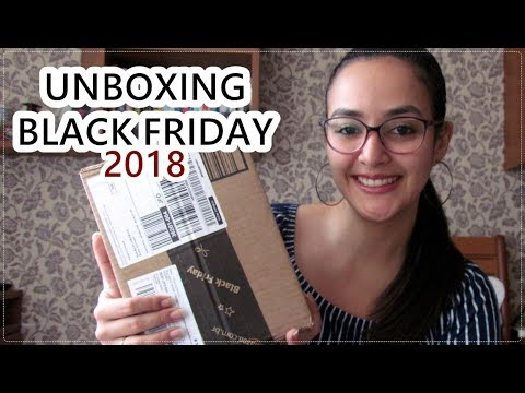 Unboxing da Black Friday l 2018