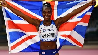 video: Dina Asher-Smith sets sights on Olympic glory with no chance of leaving coach of 14 years behind