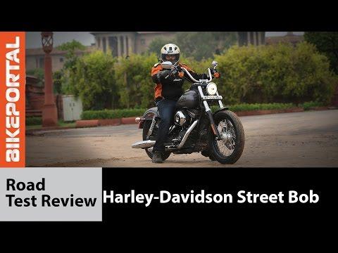 Harley-Davidson Street Bob Test Ride Review - Bikeportal