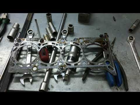 Фото к видео: Двигатель L2C (Cobalt, Ravon, Gentra) - Замена прокладки ГБЦ.