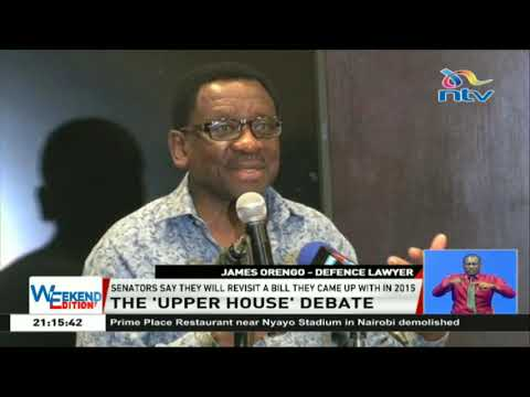 Senators want senate to be empowered as the upper house