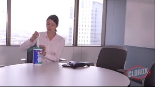 Do More, Faster, This Cold and Flu Season with Clorox Disinfecting Wipes