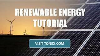 Renewable Energy Tutorial
