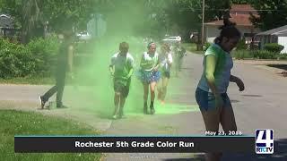 Rochester 5th Grade Color Run 2018