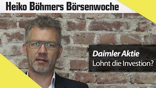 Heiko Böhmer über Tops und Flops: Daimler und Silber gewinnen