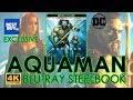 Aquaman (2018) 4K Ultra HD Blu-ray Steelbook Unboxing | Best Buy (4K Video)