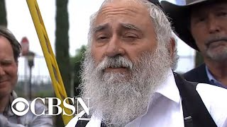 Rabbi Wounded In Deadly California Synagogue Shooting Gives Emotional Address