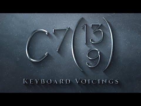 Keyboard Voicings: C7(13,9)
