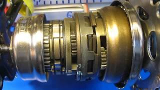 Shimano Inter 7  SG-7C21 Shifting:  Internal Assembly. Nabenschaltung 7 Gang Schalten