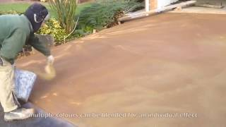 Pattern Imprinted Concrete  Stamped Concrete Driveway By Readypave Ltd
