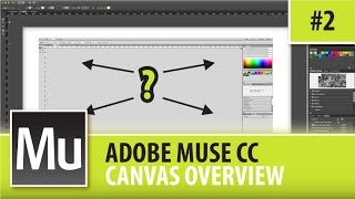 Adobe Muse CC Professional Website Design - Canvas Overview - Episode #2