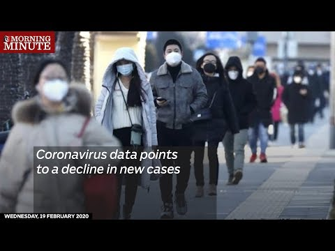 Coronavirus data points to a decline in new cases