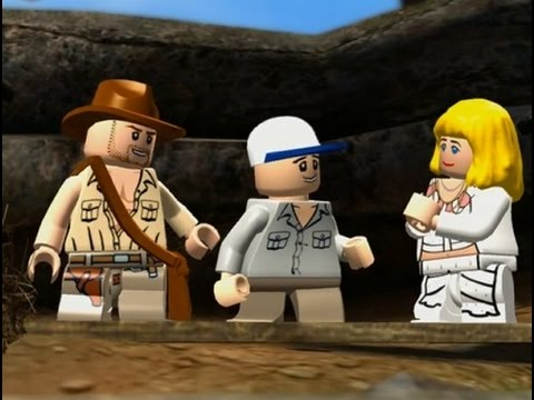 LEGO Indiana Jones Y El Templo Maldito Pelicula Completa Español - 720p - Game Movie