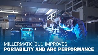 Redesigned Millermatic 211 MIG Welder Offers Improved Portability, Ease-of-Use and Arc Performance
