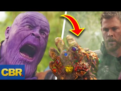 Here's How Marvel's Thanos Could Still Use The Infinity Gauntlet After It Got Damaged