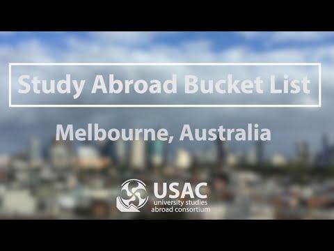 Melbourne Bucket List