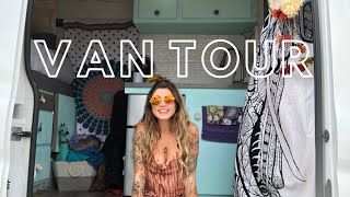 VAN TOUR L SOLO FEMALE TRAVELER & WVU GRAD SELLS EVERYTHING TO TRAVEL THE COUNTRY