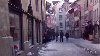 preview picture of video 'zofingen .altsdadt im schnee. Aargau-HD.Film'