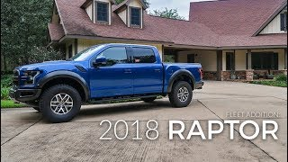 Taking Delivery of '18 Lightning Blue Raptor