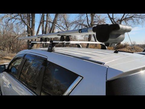 Download link youtube titan rod vault fly fishing rod rack for Fishing rod roof rack tube