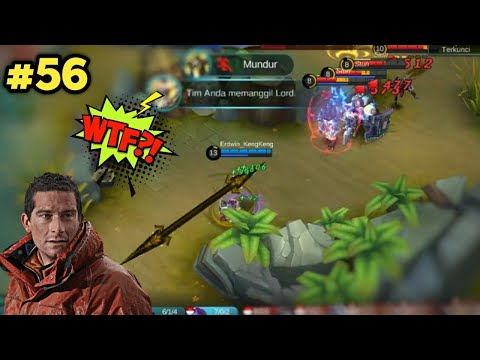 300 IQ Mobile Legends Funny OMG MOMENTS EP 56 | Moskov Ultimate Headshot Maniac