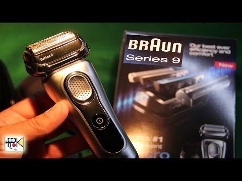 Braun Serie 9 Rasoio Elettrico maschile a Lamina con Sistema Clean&Charge. SyncroSonic.