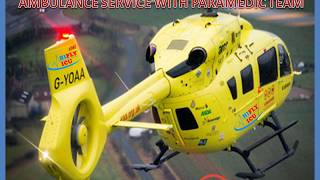 Hire Affordable Air Ambulance Services from Ranchi to Delhi by Hifly ICU