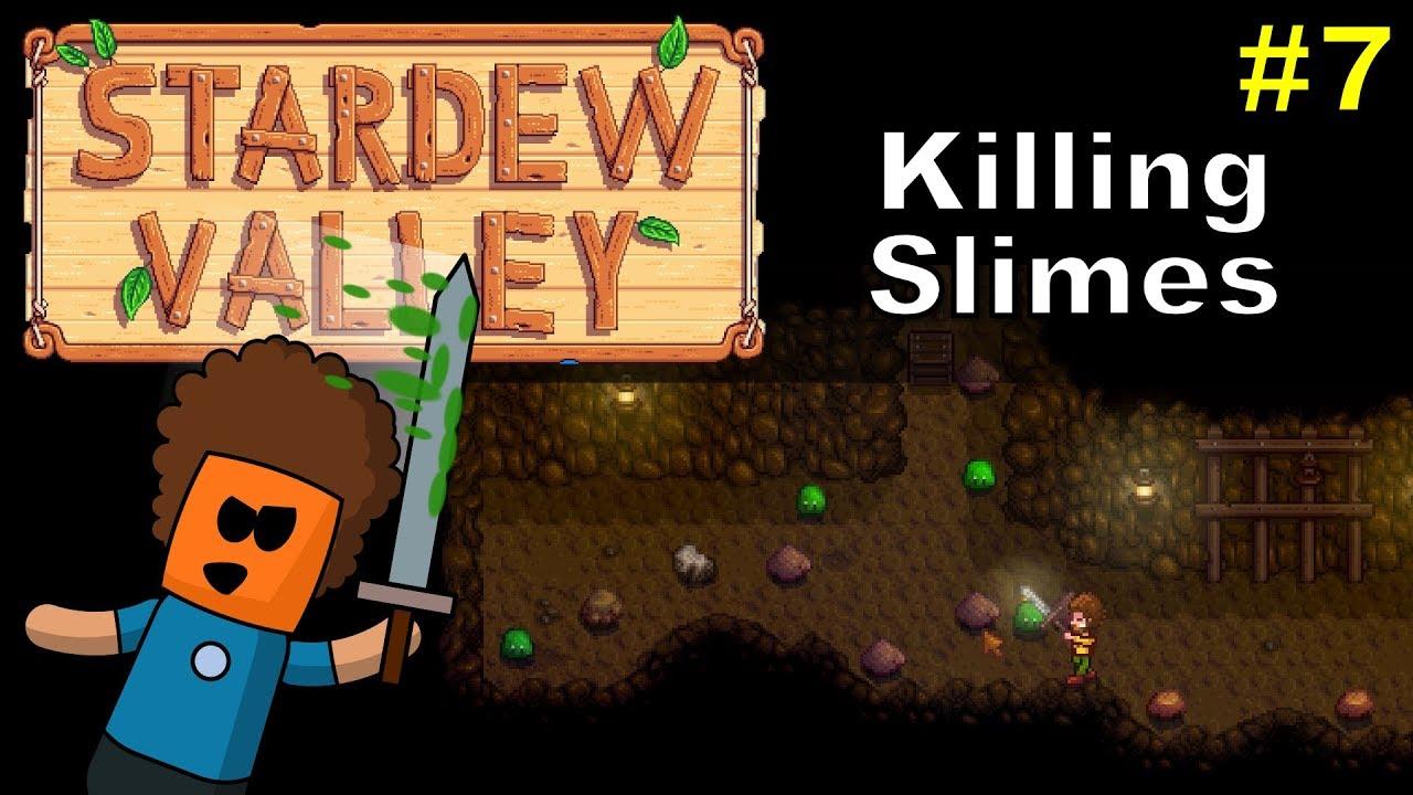 Stardew Valley #7 | Killing Slimes