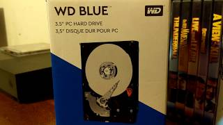 WD BLUE 3TB Hard Drive Unboxing And Install
