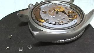 十點九分鐘錶Fortis Cosmonaut Chronograph Cal 5100和平太空站宇航天文台計時 錶維修4-1 Watch9After10詹師傅+886933594731