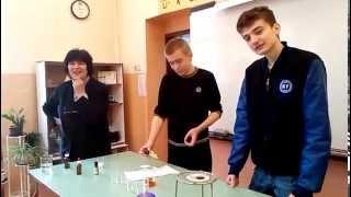 Експерименти по химия в 54. СУ