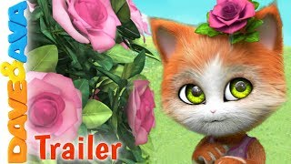 🌹Ring Around The Rosie - Trailer   Baby Songs and Nursery Rhymes by Dave and Ava 🌹