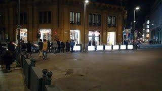 Palermo, il presidente libico al-Serraj passeggia in via Maqueda