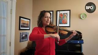 VIOLIN: Playing with a Straight Bow with Amy Glidden