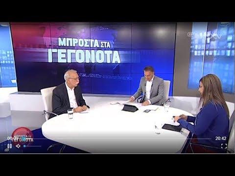 Δ.Βίτσας και  Σ.Ζαχαράκη σχολιάζουν την πολιτική επικαιρότητα   21/05/2019   ΕΡΤ