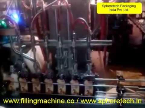 Liquid Cosmetics Filling Machine