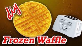 DIY Frozen Waffles Recipe