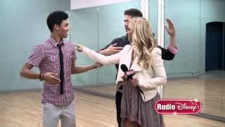 "Roshon Fegan & Chelsie Hightower ""Dancing with the Stars"" Quick Step | Radio Disney"