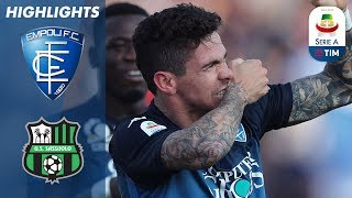 Empoli 3-0 Sassuolo | Three Empoli Goals Stun Sassuolo | Serie A