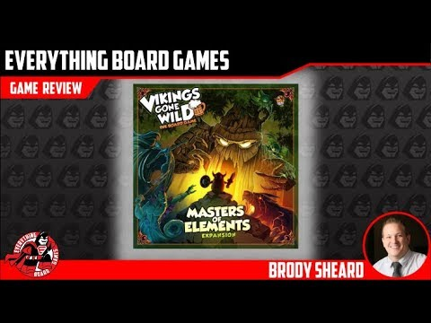 Everything Board Games - Vikings Gone Wild: Masters of Elements