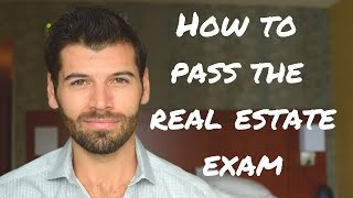 How to pass the real estate exam without reading the book.