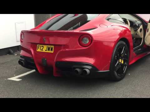 Ferrari F12 Innotech Exhaust Revving