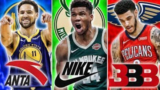 Ranking The Best NBA Player From Every Shoe Brand