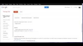 'Managing' Your Google Site - Sites Tutorial 5 of 5